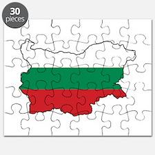 Flag Map of Bulgaria Puzzle