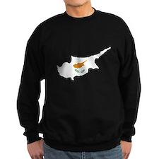 Flag Map of Cyprus Sweatshirt