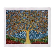 My Tree of Life Throw Blanket