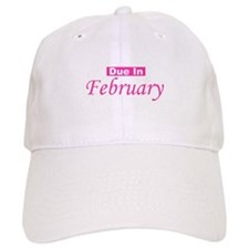 Due In February - Pink Baseball Cap