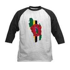 Dominica Flag and Map Tee