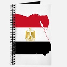 Egypt Flag and Map Journal