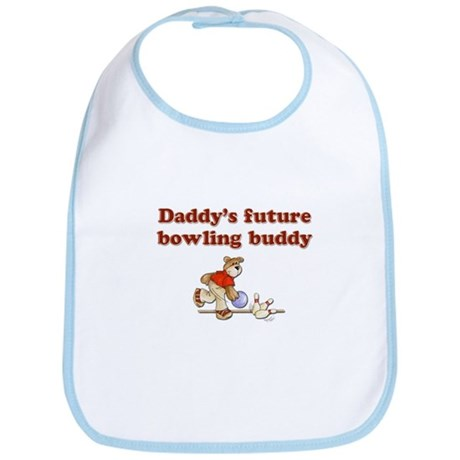 Daddy's Future Bowling Buddy Bib