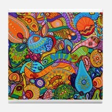 Unique Art Tile Coaster
