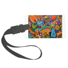 Cute Painting Luggage Tag