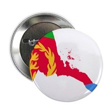 "Eretria Flag and Map 2.25"" Button"