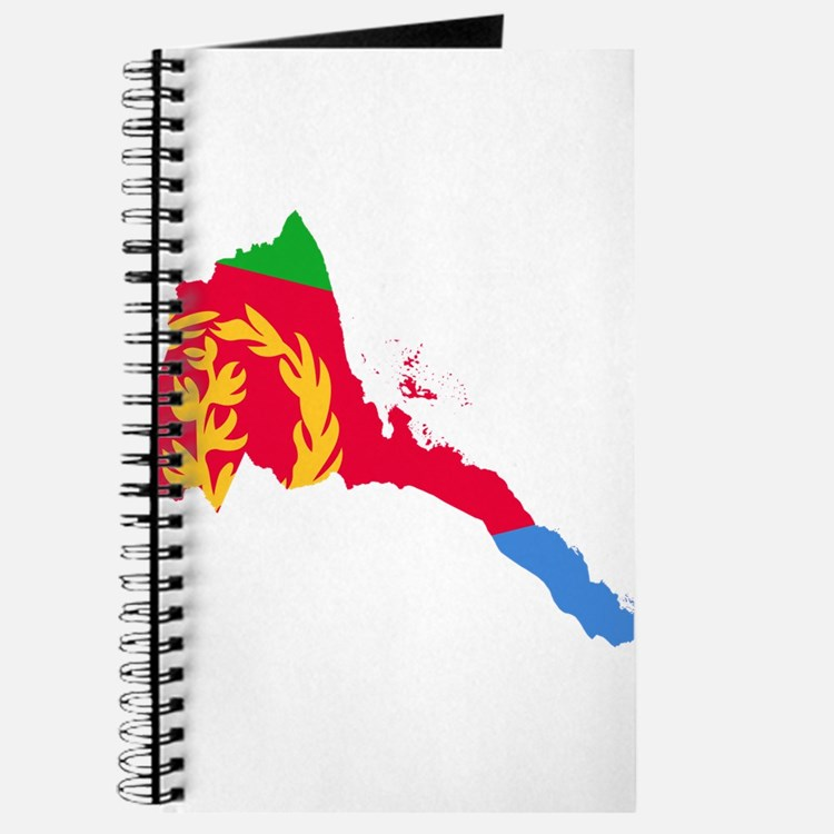 Eretria Flag and Map Journal