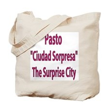 Pasto frases colombianas Tote Bag