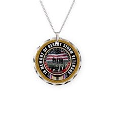 Desert Storm Veterans Necklace