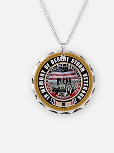 Desert Storm Veterans Necklace