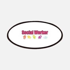 Social Worker Girl Patches