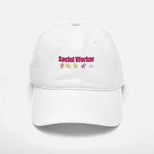 Social Worker Girl Baseball Baseball Cap