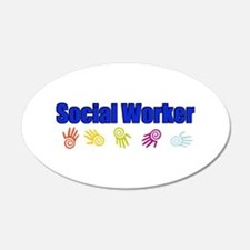 Social Worker Man Wall Decal