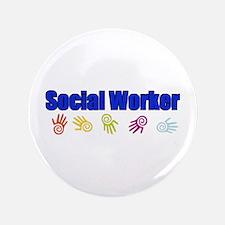 """Social Worker Man 3.5"""" Button"""