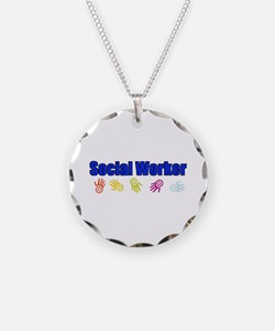 Social Worker Man Necklace