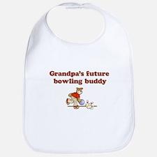 Grandpa's Future Bowling Buddy Bib