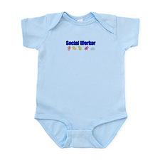 Social Worker Man Infant Bodysuit