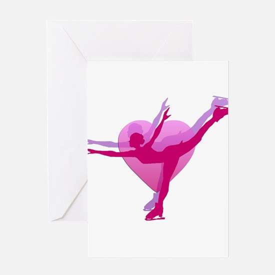 Skater Silhouette Greeting Card