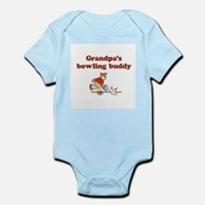 Grandpa's Bowling Buddy Infant Creeper
