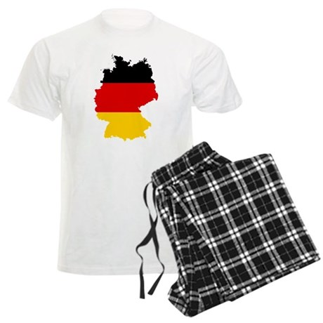 Germany Subdivisions Flag and Map Men's Light Paja
