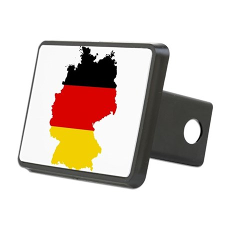 Germany Subdivisions Flag and Map Rectangular Hitc