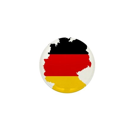 Germany Subdivisions Flag and Map Mini Button (100