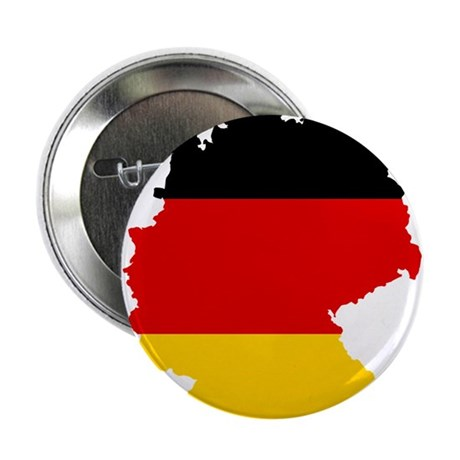 """Germany Subdivisions Flag and Map 2.25"""" Button"""