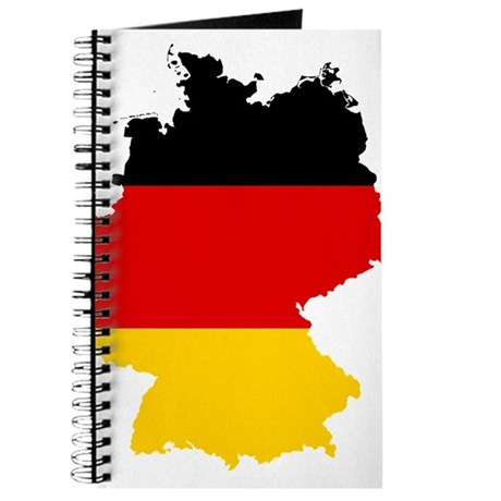 Germany Subdivisions Flag and Map Journal