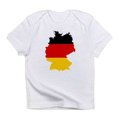 Germany Subdivisions Flag and Map Infant T-Shirt