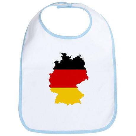 Germany Subdivisions Flag and Map Bib