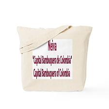 Neiva frases colombianas Tote Bag