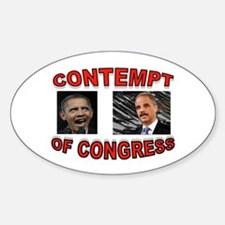 CONTEMPTIBLE DUO Sticker (Oval)