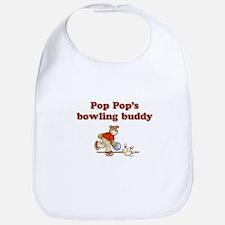 Pop Pop's Bowling Buddy Bib