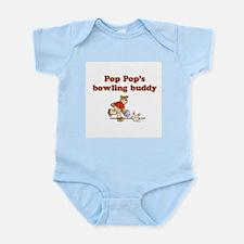 Pop Pop's Bowling Buddy Infant Creeper