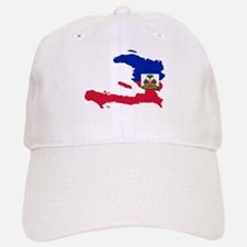 Haiti Flag and Map Cap