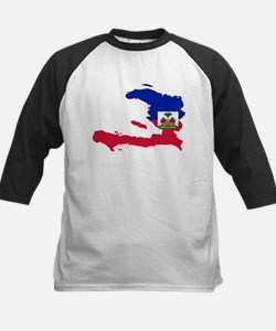 Haiti Flag and Map Tee