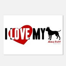 Amstaff Postcards (Package of 8)