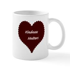 Kindness Matters Heart Mug