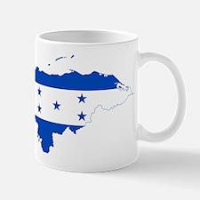 Honduras Flag and Map Mug