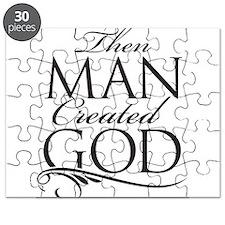 Man Created God Puzzle