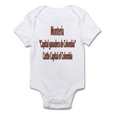 Monteria frases colombianas Infant Creeper
