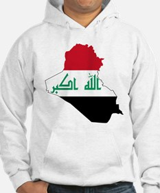 Iraq Flag and Map Jumper Hoody