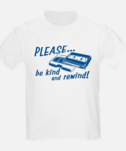 Be Kind and Rewind Kids T-Shirt