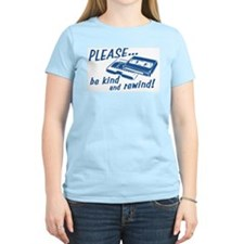 Be Kind and Rewind Women's Pink T-Shirt