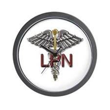 LPN Medical Symbol Wall Clock