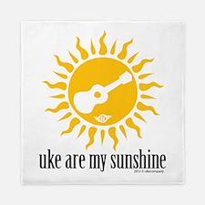 uke are my sunshine Queen Duvet