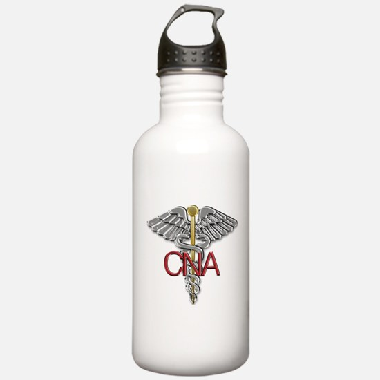 CNA Medical Symbol Water Bottle