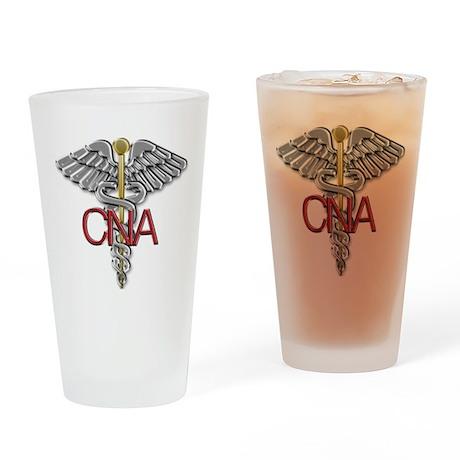 CNA Medical Symbol Drinking Glass
