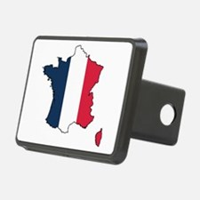 Flag Map of France Hitch Cover