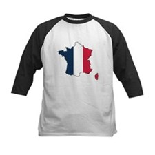 Flag Map of France Tee